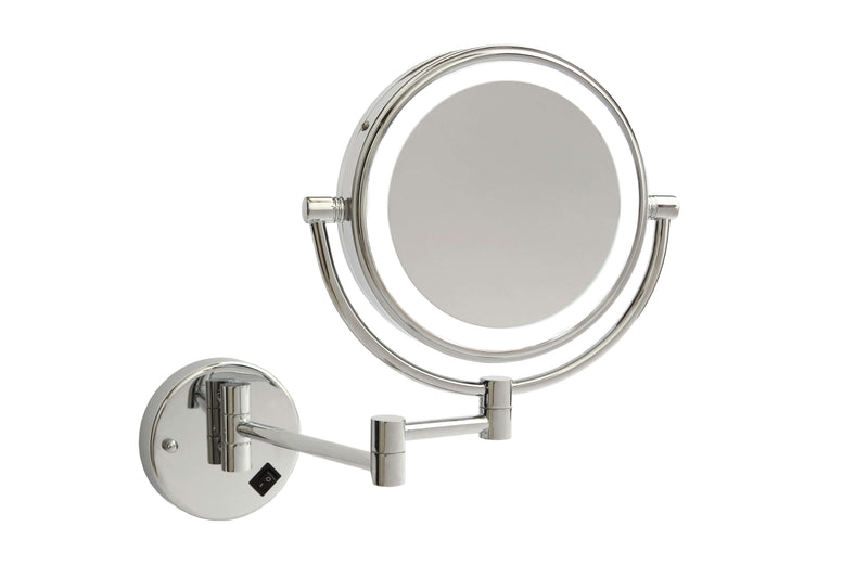 Ablaze Chrome 8x Magnifying Mirror With Light