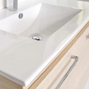 Swift Ceramic Slim Wall Hung Vanity, 750mm