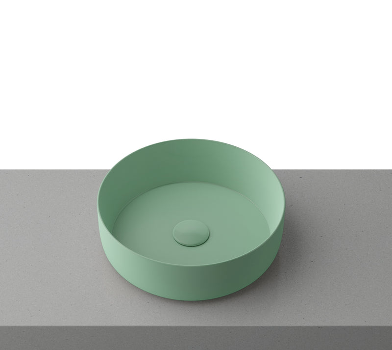 Timberline Allure Above Counter Basin - Mint Green