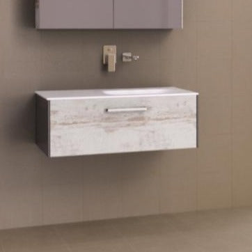 Timberline Andersen 900mm Vanity with Pond Top