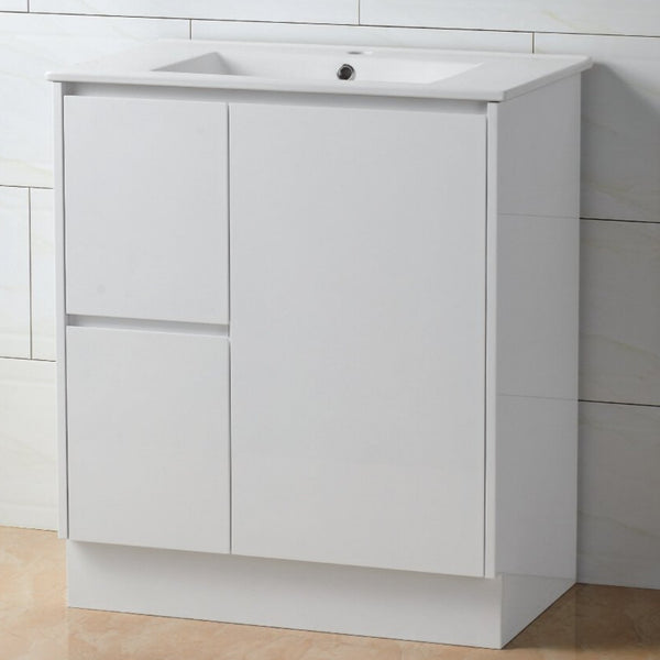 Ares 750 China Top Vanity - Finger Pull