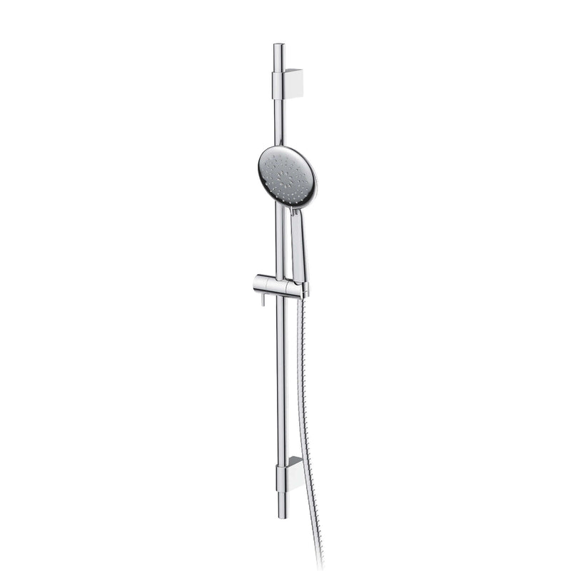 Greens Astro Adjustable Rail Shower - Chrome