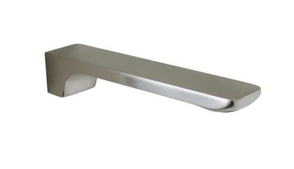 Streamline Axus Wall Mounted Bath Spout, Satin Nickel Pvd **OVERSTOCKS**