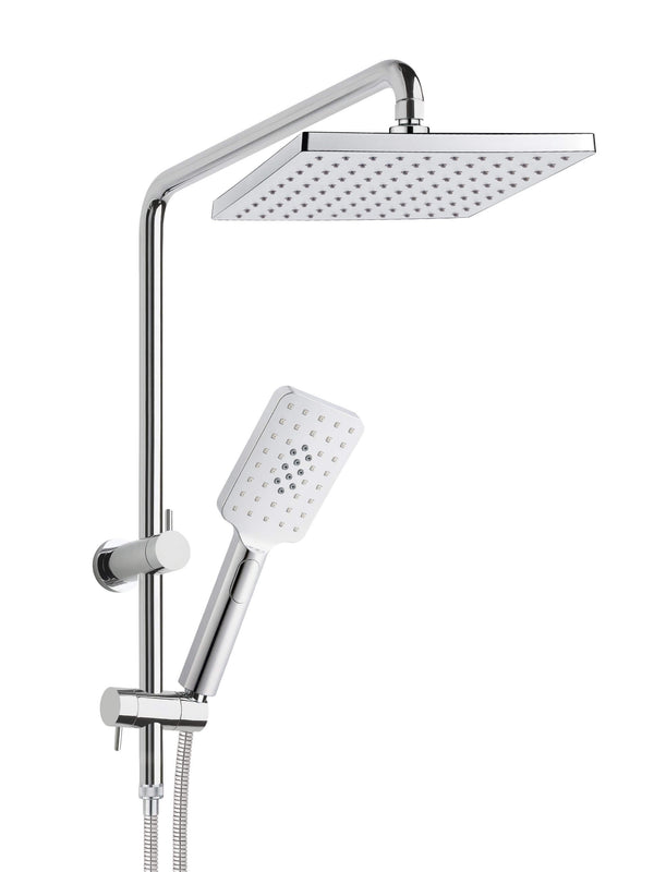 Bakara Rectangular Short-Tail Combo Shower Set