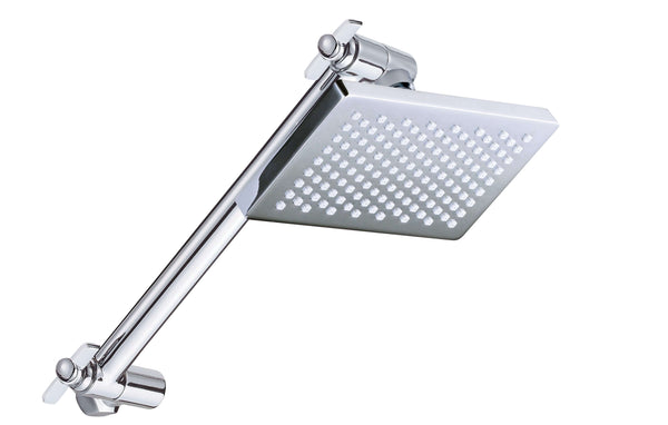 Bakara Small Shower Head on All Directional Arm