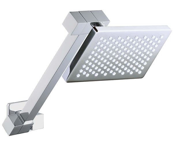 Bakara Small Shower Head on HD Square All Directional Arm