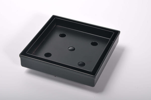 Black Tile-In Floor Drain