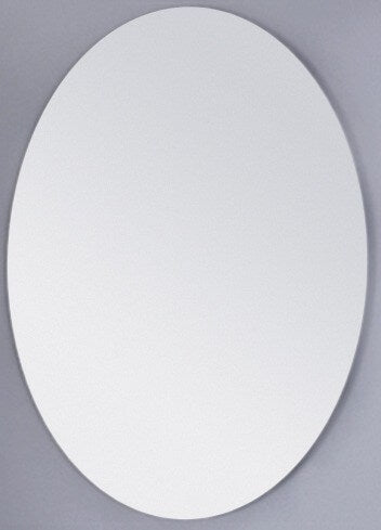 Ablaze Oval Contractor Mirror - 750 x 900mm