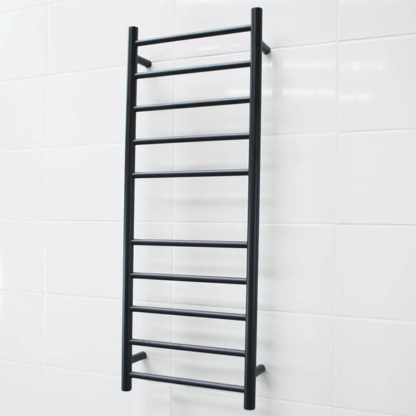 Radiant BRTR430 Heated Ladder 430x1100 Matte Black