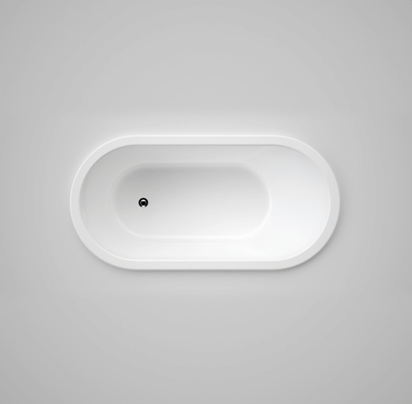 Classic 1700 Bath - Drop In White