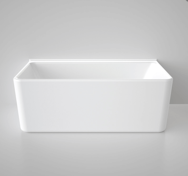 Cube 1600 Back to Wall Freestanding Bath