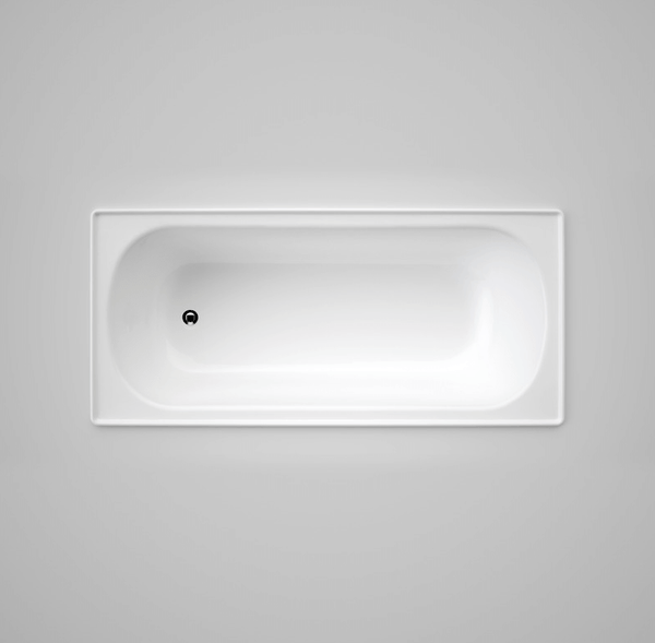 Caroma Stirling Steel Bath, 1675mm