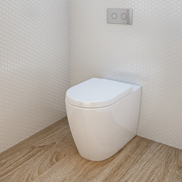 Caroma Urbane Invisi Series II Wall Faced Toilet Suite