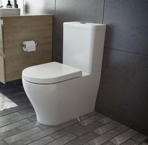 Caroma Luna Wall Faced Toilet Suite