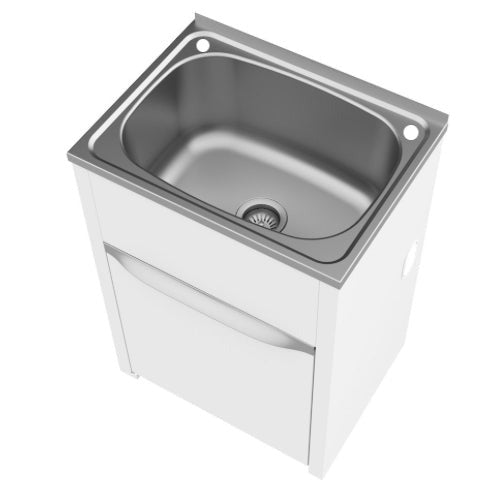 Eureka 45 Litre Standard Tub and Cabinet with Single By-Pass
