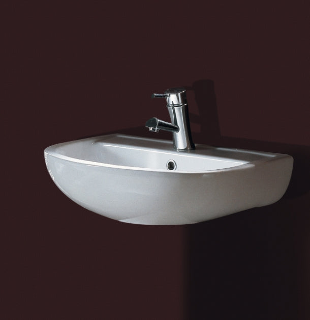 Compact 450mm Wall Basin