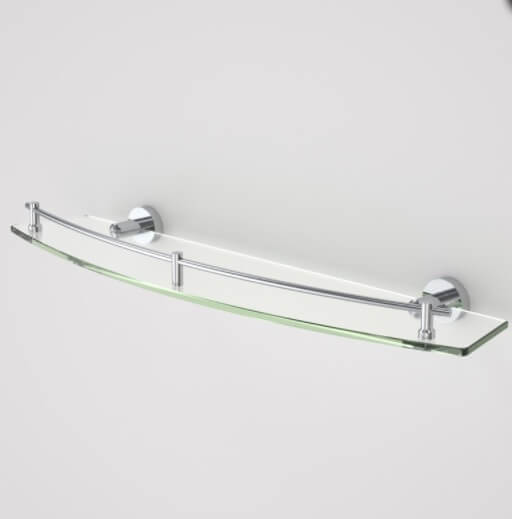 Caroma Cosmo Glass  Shelf -Single