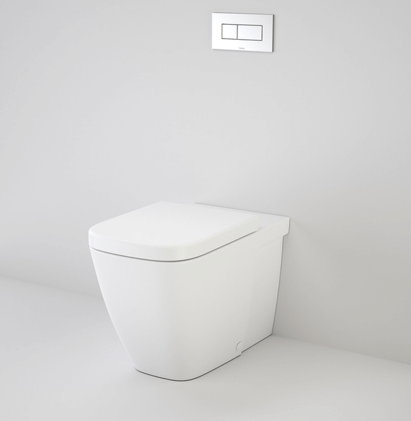 Caroma Invisi II Cube Wall Faced Toilet Suite