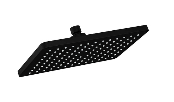 Bakara Rectangular Shower Head - Matte Black