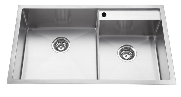 Squadra 860mm Double Bowl Sink