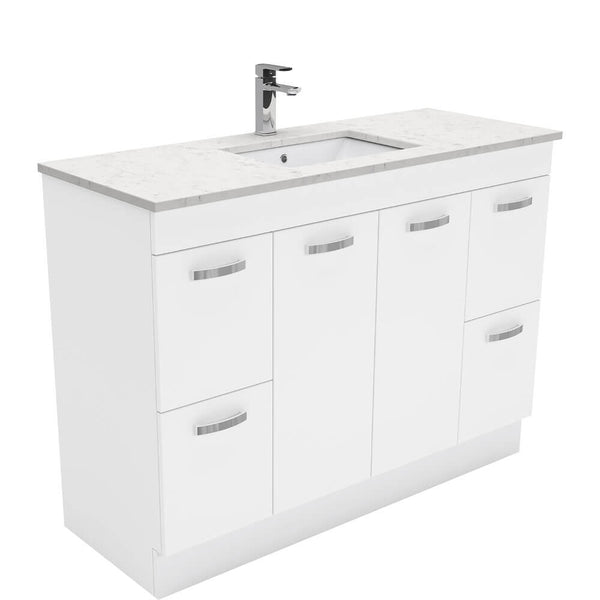 Dianne 1200mm Floor Standing Vanity Unit with Stone Top & Undermount Basin
