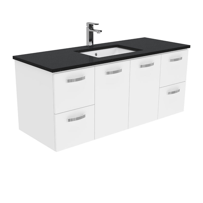 Dianne 1200mm Wall Hung Vanity Unit with Stone Top & Undermount Basin