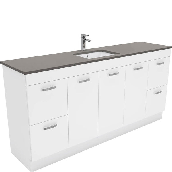 Dianne 1800mm Floor Standing Vanity Unit with Stone Top & Undermount Basin