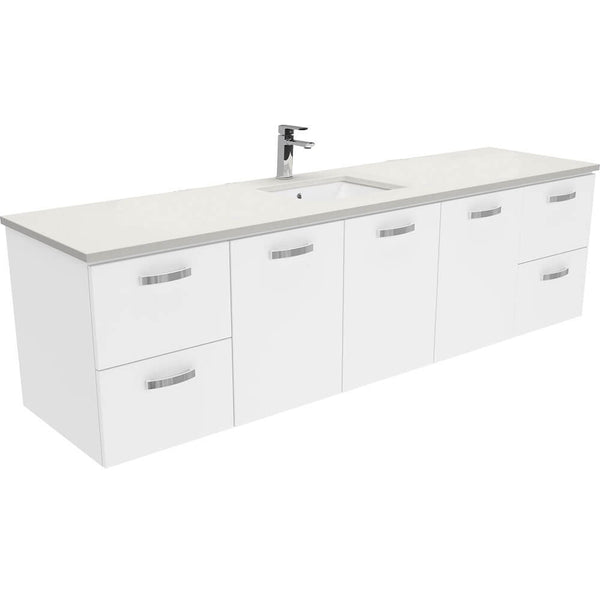 Dianne 1800mm Wall Hung Vanity Unit with Stone Top & Undermount Basin