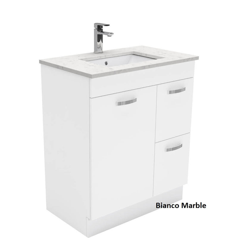 Dianne 750mm Floor Standing Vanity Unit with Stone Top & Undermount Basin