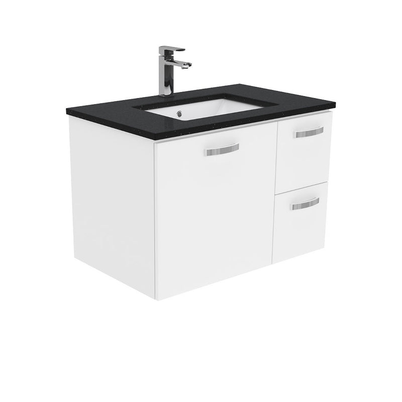 Dianne 750mm Wall Hung Vanity Unit with Stone Top & Undermount Basin