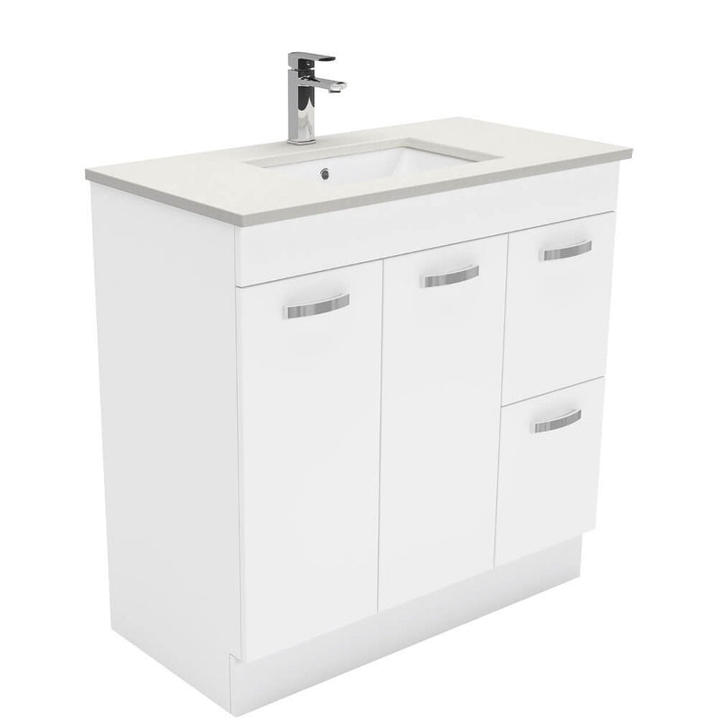 Dianne 900mm Floor Standing Vanity Unit with Stone Top & Undermount Basin