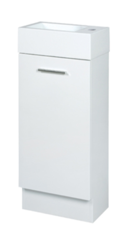 Duraplex Hamilton Mini Vanity Unit 400mm White Gloss 1th / Limited Stock
