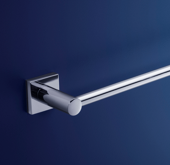 Dorf Enix Single Towel Rail - 600mm