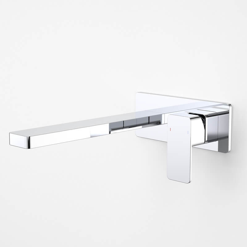 Dorf Epic Platemount Wall Bath Mixer 240mm