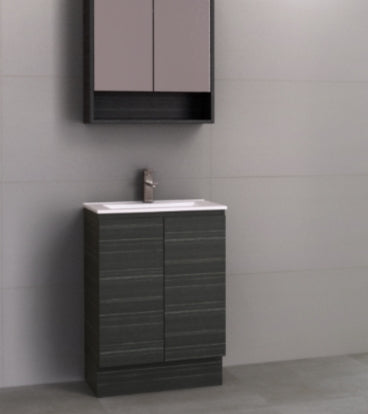 Noosa Narrow 600mm Floor Standing Vanity
