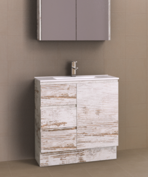 Timberline Florida Ensuite 800mm Floor Standing Vanity