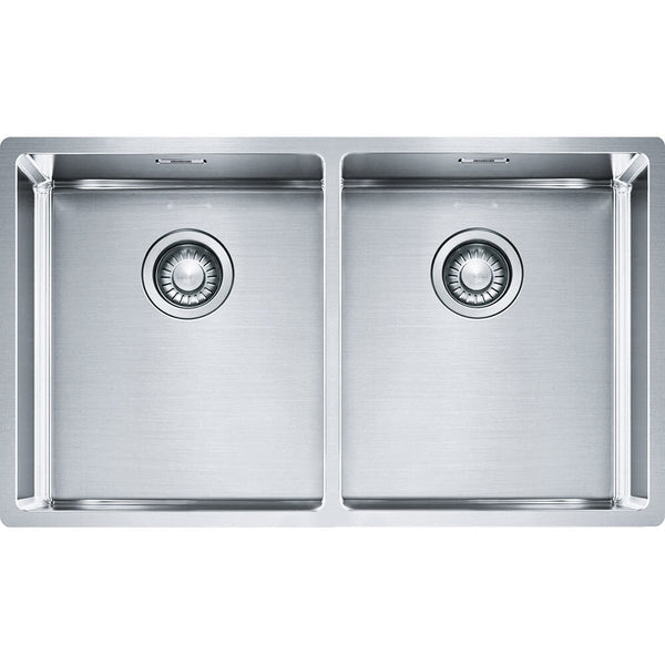 Franke Bolero Double Bowl Kitchen Sink - incl Accessories