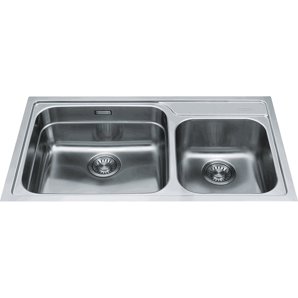 Franke Karst Double Bowl Top Mount / Undermount Sink
