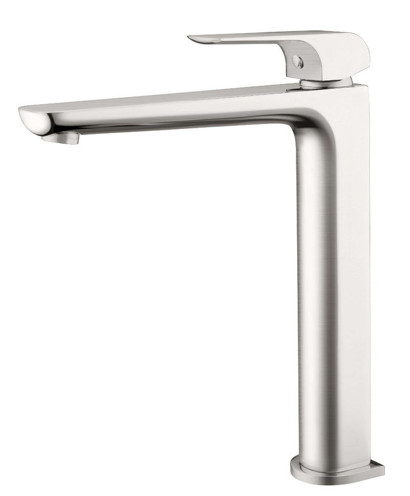 Fresh Tall Basin Mixer - Brushed Nickel