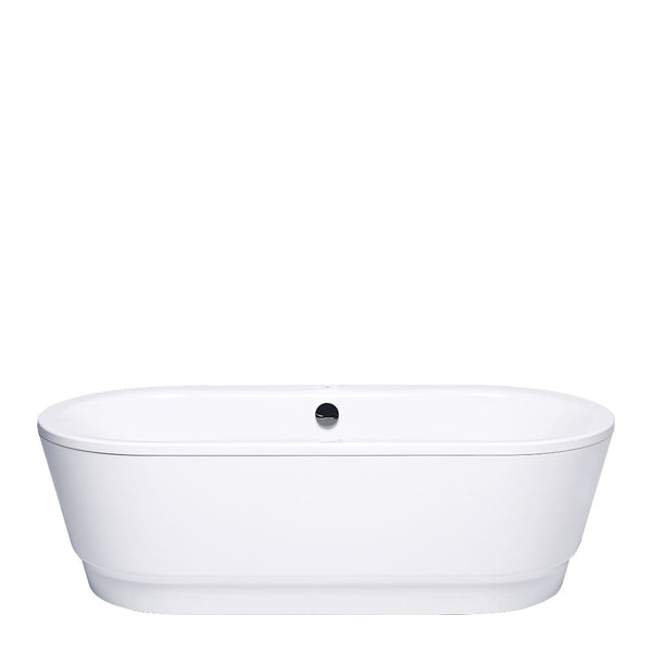 Gala Emma Freestanding 1800mm Pressed Steel Bath White