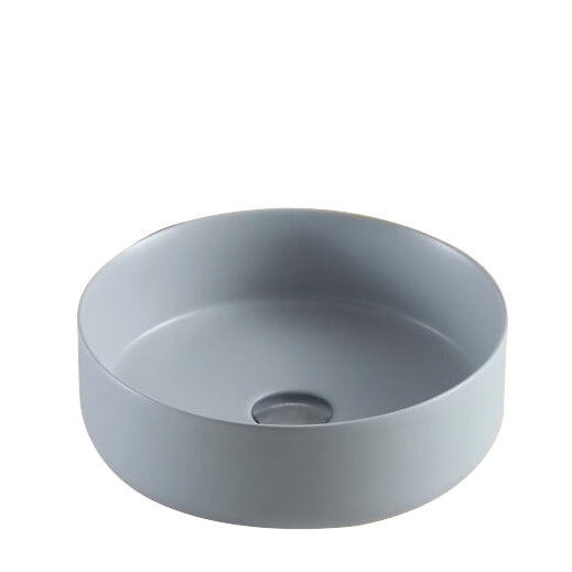 Genoa Round Above Counter Basin - Matte Grey