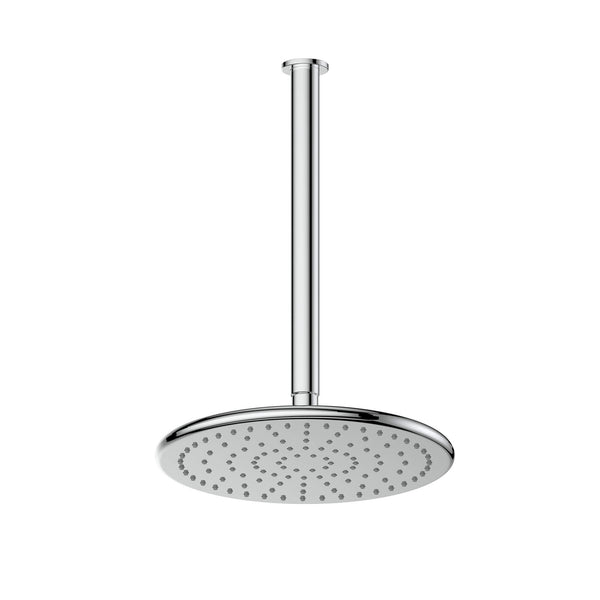 Greens Glint Overhead Ceiling Shower - Chrome