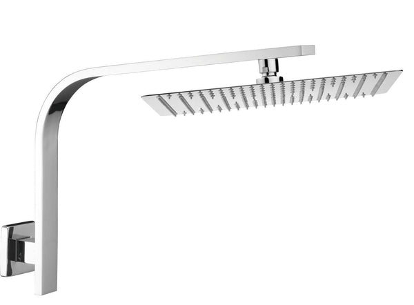Globo 200 Square Shower Head on Arm