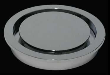 Halo 100mm Trapscrew Round Floor Waste HALTSG100PCP
