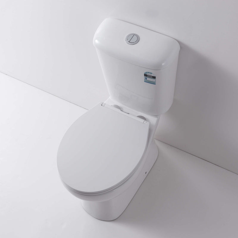 Hobson Rimless Close Coupled Toilet Suite - Nano Coated - P Trap