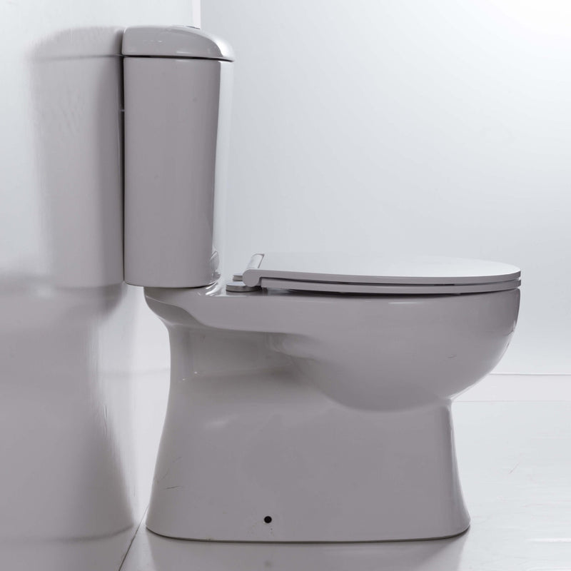 Hobson Rimless Close Coupled Toilet Suite - Nano Coated - S Trap
