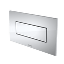 Caroma Invisi Series II® Metal Rectangular Single Flush Plate & Button