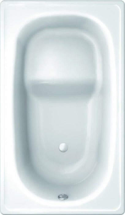 Ultra Compact 1050mm Shower Bath with Seat