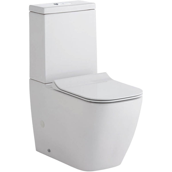 Fienza Lincoln Back To Wall Toilet Suite