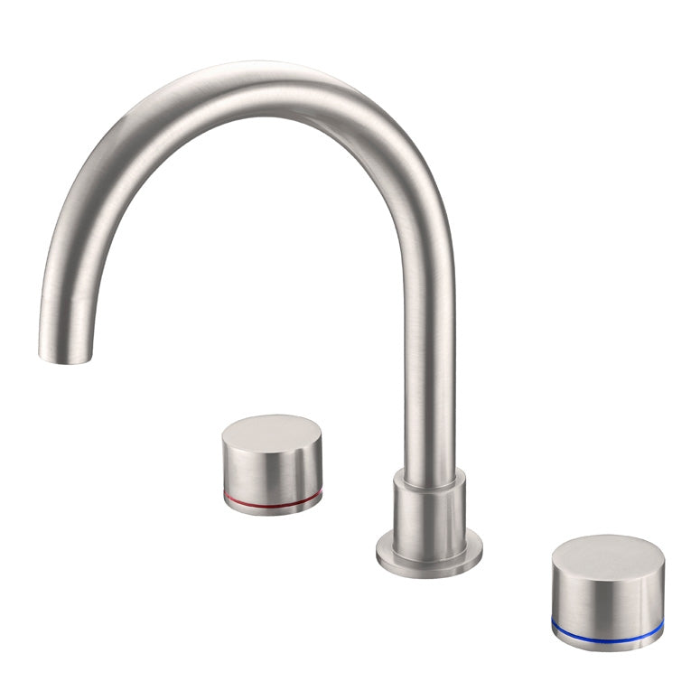 Kara Bath Set - Brushed Nickel
